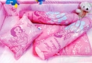 Pink Princess Pillow Set