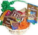 Basket of full chocolates