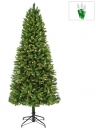 4' Pencil Pre-Lit Tiffany Tree, 450 Clear Lamps