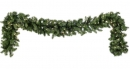 9' Pre-Lit Douglas Fir Garland , 100 Multicolored Lamps