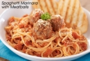 Contis Spaghetti Marinara with Meatballs